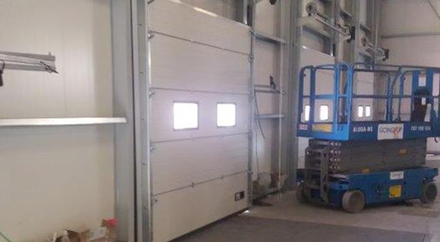 Tipos de portões seccionados comercializados