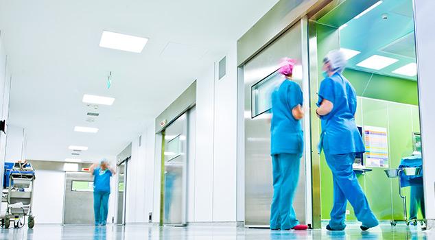 Portas de hospital