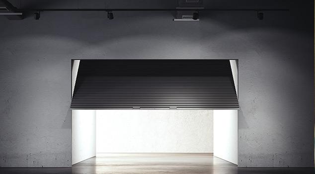 Portões basculantes para garagens